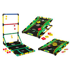 Ladder Ball Bean Bag Washer Toss Game Set Portable Outodoor Tailgate Lawn Sport
