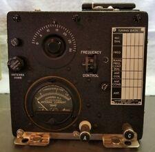 WW2 Western Electric Aircraft Radio Transmitter GF-12/RU-17 CW-52063A -0910C