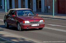Opel Kadett E Cabrio Softtop Verdeck Bezug Montage Einbau Anleitung EBA Bertone