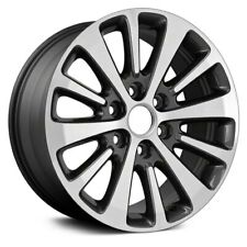 For Ford Expedition 15-17 Alloy Factory Wheel 12-Spoke Machined & Dark Charcoal