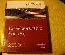 Comprehensive Volume 2010 Edition Book.south western federal taxation Hardback