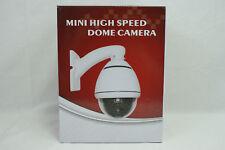 Mini High Speed Dome Camera M4RS-E 10x Zoom CCD Infrared 480TVL