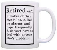 Retirement Gift Ideas Retired Definition Funny Retirement Coffee Mug Tea Cup