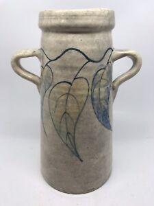 Vintage 2 Handled Pottery Vase