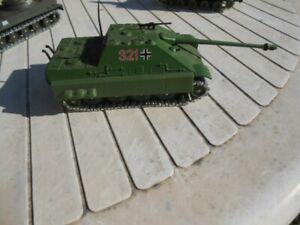 SOLIDO 1/50  CHAR JAGDPANTHER  véhicule militaire avec blindage chenilles