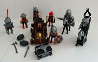 PLAYMOBIL RITTER HORDE mit KATAPULT Berserker Kreuzritter Crusader KNIGHTS*LAU*