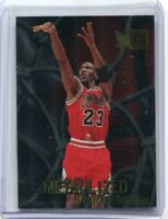 1996-97 Fleer Metal Metalized Foil Michael Jordan #128 MINT ~ Bulls Gradeable!!