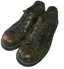 Dr. Martens 11387 Brown Leather Lace Up 6 Eyelets Men's Size 12 US 46 EU 11UK