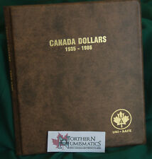 UNIMASTER Album for CANADA silver dollars 1935 - 1986 inc. 4 pages Brand new