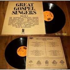 VA / Staple Singers, Swan Silvertones-Great Gospels Singers Double LP French  NM