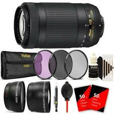 Nikon AF-P DX NIKKOR 70-300mm f/4.5-6.3G ED VR Lens and Top Accessories
