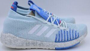 Adidas PulseBOOST HD W Blue Silver Gray Women SZ 10.5 Shoes Sneakers EF1358  NEW