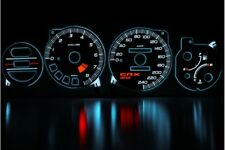 Honda CRX Del Sol design 1 glow gauge plasma dials tachoscheibe glow shift indic