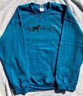 Aussie Rescue - An Aussie stole my heart sweatshirt - Antique Sapphire - Medium
