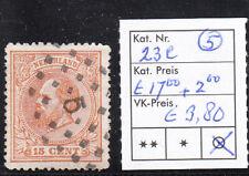 Nederland. Puntstempel 5 op NVPH 23C. Catw. € 17,00 + SW € 2,00