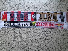 lotto 2 sciarpe JUVENTUS -  RED BULL SALZBURG europa league 2011 scarf lot