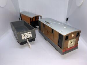 Tomy Trackmaster Plarail Talk N Action Toby *RARE*