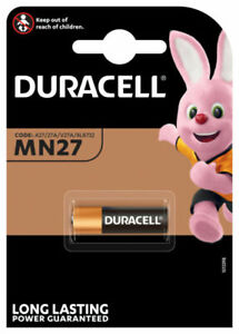 1er Blister Duracell Security MN27 12V Alkaline