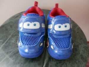 Boy Cars Lightning McQueen Shoes Size 7