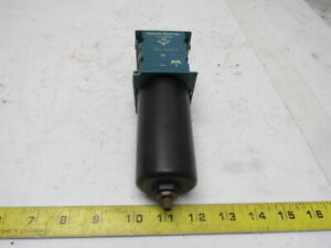 Rexroth Mecman 5351220060 Pneumatic Filter FIL C15 I W/O Flanges