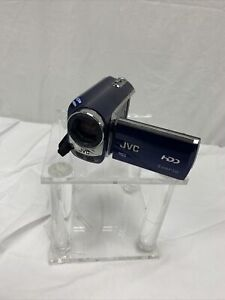JVC Everio GZ-MG630 HDD 60GB Standard Def Camcorder Blue Discontinued Remote