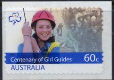 2010 Australia - Girl Guides Centenary (1) S/A ex roll MUH