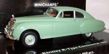 Véhicules miniatures vert pour Bentley 1:43