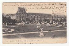 *** Paris - Le Jardin des Tuileries, vers Pavillon de Flore *** 1903 - CPA 0667