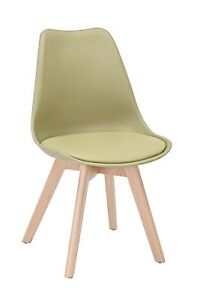Chair Line CMS 49x42x82H Packaging 4 Pieces, Green Sage