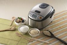 Zojirushi NS-LGC05 Rice Cooker & Warmer, Stainless Black