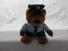 "MONTREAL QUEBEC CANADA 911 Police Bear FLIK old logo PLUSH doll mascot 7 "" RARE"
