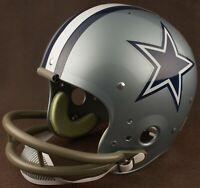 DALLAS COWBOYS 1967-1982 NFL Authentic THROWBACK Football Helmet