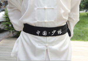 Shaolin monk qigong belt cotton martial arts kung fu tai chi taekwondo belt