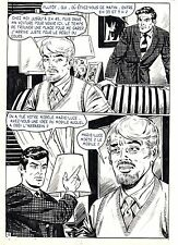 FLASH ESPIONNAGE PLANCHE ORIGINALE AREDIT PAGE 11