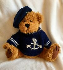 """Tango Pickford  Sailor  Brass Button Bear Of Happiness Navy Sweater Anchor 11 """""""