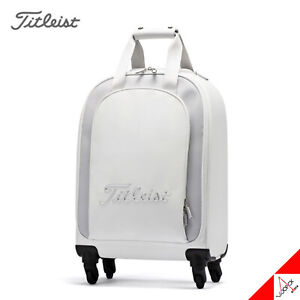 Titleist 2021 Women's Urban Wheeled Golf Boston Bag 15x8x21inch-TB20CTUW-1/White