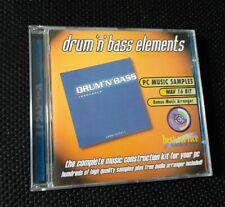 Best Service - Drum 'n' Bass Elements - Ueberschall DnB Resonance - Sampling CD