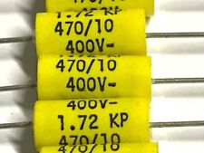 470pf, 10%, 400v - 160v ~, KP-Condensatore, assiale, arcotr., a72mf04702600k, 20 pezzi
