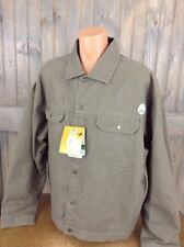 Arborwear Light Weight  Work Jacket Canvas Fleece Lined 3XL NEW NWT DRIFTWOOD