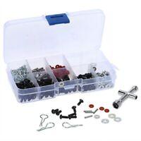 270 Stück Satz Schrauben Box Repair Tool Kit für 1/10 HSP RC Auto DIY wj eNwrg