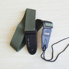 NWT guitar strap high quality adjustable Army Green belt acoustic electric strap