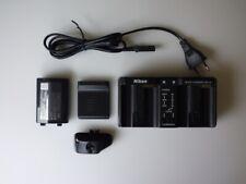 NIKON MH-22 Quick  charger + Battery EN-El4a + Camera battery cover