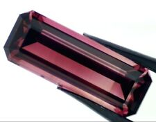 RUBELLITE TOURMALINE 25.00 x 9.00 MM EMERALD CUT F-123