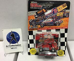 Steve Smith Outlaw Sprint Car Die-cast With Card/ Display 1993 Nib Racing Champi