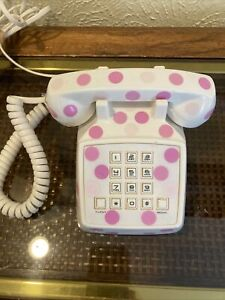 Pottery Barn Kids Mini Phone Pink White Small