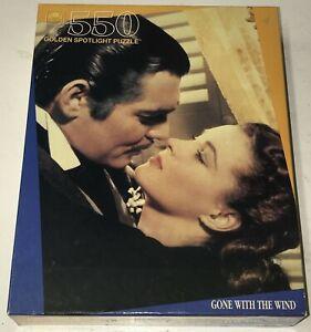 New Golden Spotlight Puzzle 50 Gone With the Wind Sealed Rhett Butler Scarlett