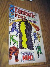 Fantastic Four 67 1st Adam Warlock 1967 Marvel Comic Book Thanos Infinity