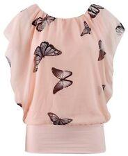 Flügelärmel Damen Blusen, Tops und Shirts
