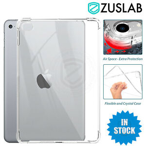 For Apple iPad 8 7 6 mini 5 Air 4 Pro 3 2 1 Case Clear Slim Shockproof Cover
