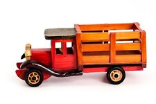 High Quality Old Style Truck Desk Ornament AmeriCredit Logo Woodwork Collectors